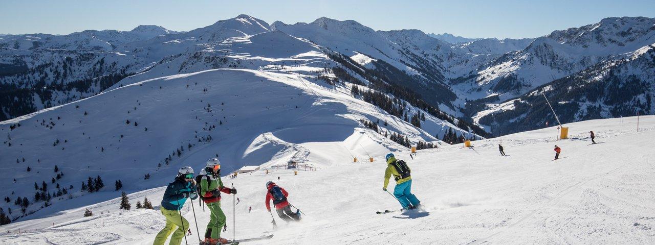 Skifahren im Ski Juwel Alpbachtal Wildschönau, © Ski Juwel Alpbachtal Wildschönau