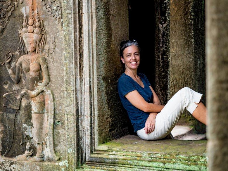 eine Tirolerin, die seit über zehn Jahren in Asien ihre zweite Heimat gefunden hat.
