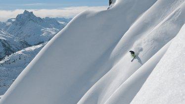 Freeriden in St. Anton am Arlberg, © Tirol Werbung/Josef Mallaun