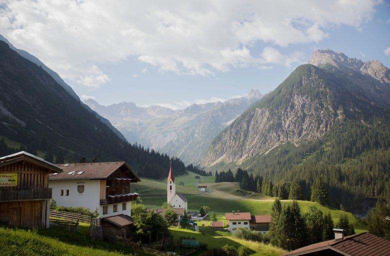 Gramais in den Lechtaler Alpen ist die kleinste Gemeinde Österreichs. , © Tirol Werbung, Bert Heinzlmeier