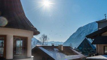Ausblick vom Appartementhaus Alpenrose