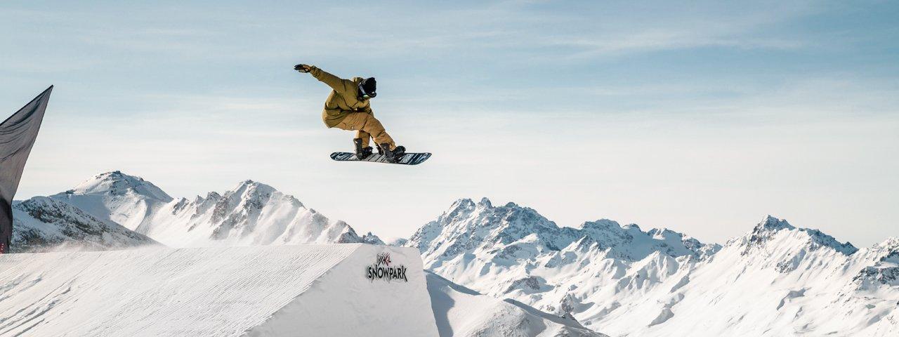 Snowpark Ischgl, © TVB Paznaun-Ischgl
