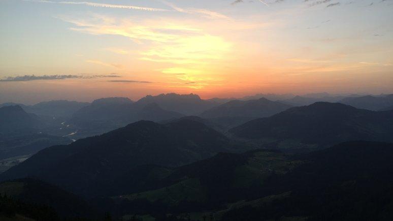 Sonnenaufgang Gratlspitze im Alpbachtal, © Alpbachtal Tourismus