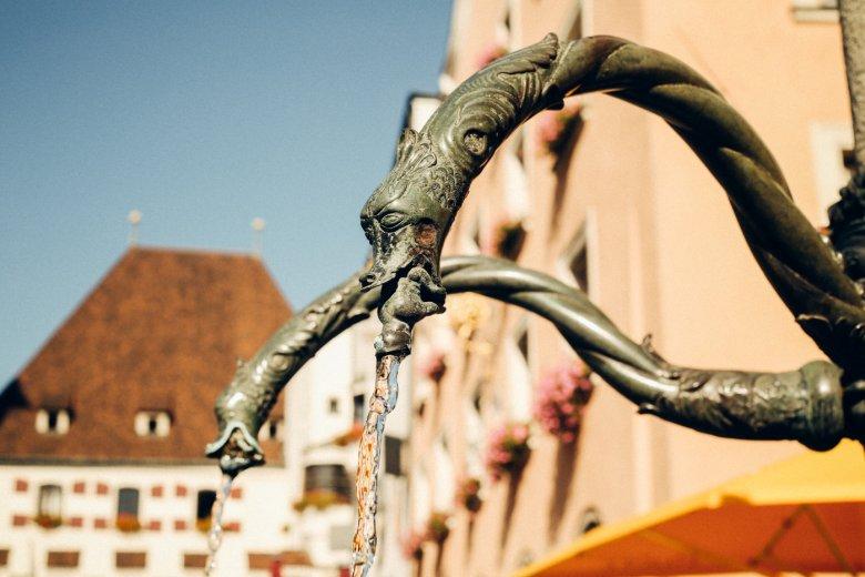 Stadtbrunnen am Oberen Stadtplatz