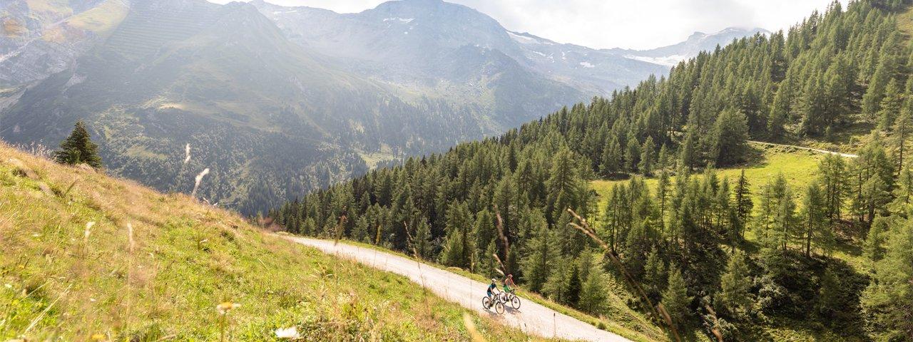 Mountainbiken Tux, © Archiv TVB Tux-Finkenberg / Hannes Sautner