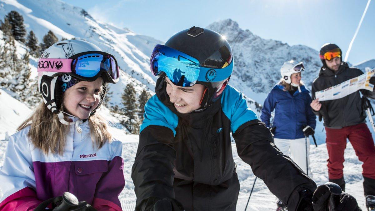 Skiurlaub in der Familienregion Hochoetz, © Ötztal Tourismus