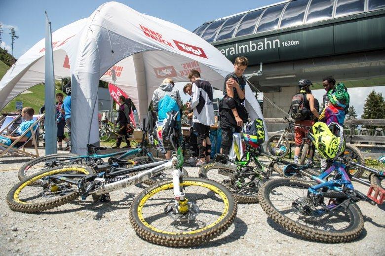 Kleine, authentische Veranstaltung sind vor allem für die lokale MTB Szene wichtig.Foto: MTB Downhill & Freeride Verein Innsbruck / Andreas Vigl
