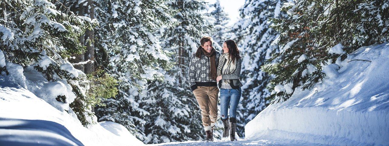 Winterwanderung am Friedensweg, © Olympiaregion Seefeld