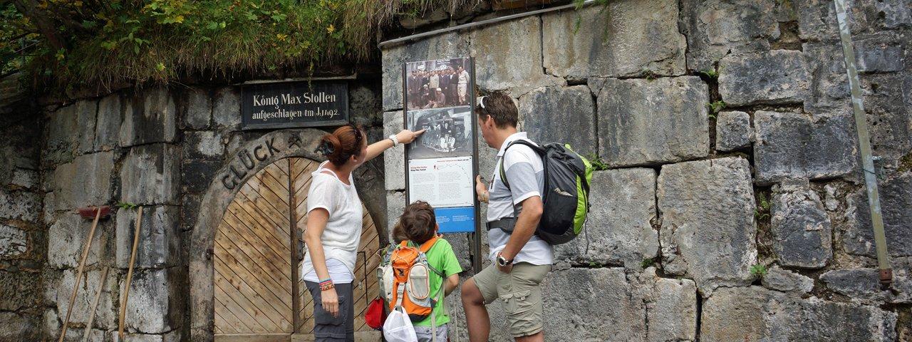 König-Max-Stollen am Ende des Historischen Solewanderweges, © Region Hall-Wattens