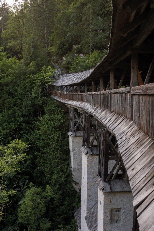 Die Hohe Brücke bei St. Georgenberg.