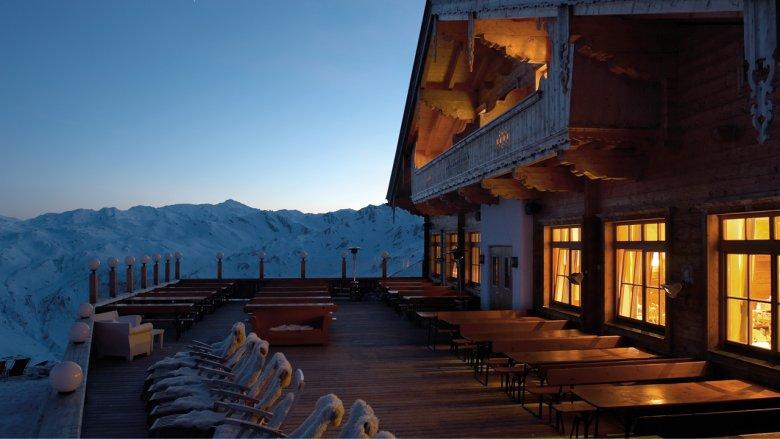 Kristallhütte im Skigebiet Hochzillertal
