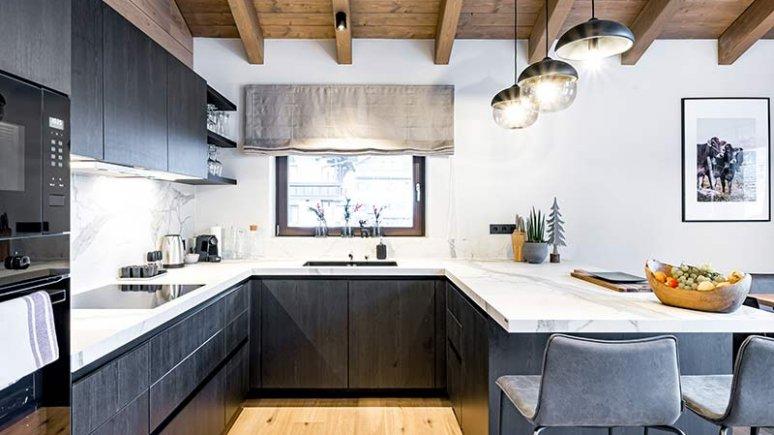 Küche, © Alpenchalet Tirol