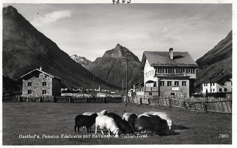 Dort wo früher die Schafe weideten, steht jetzt das Alpinarium. Foto: Alpinarium Galtür