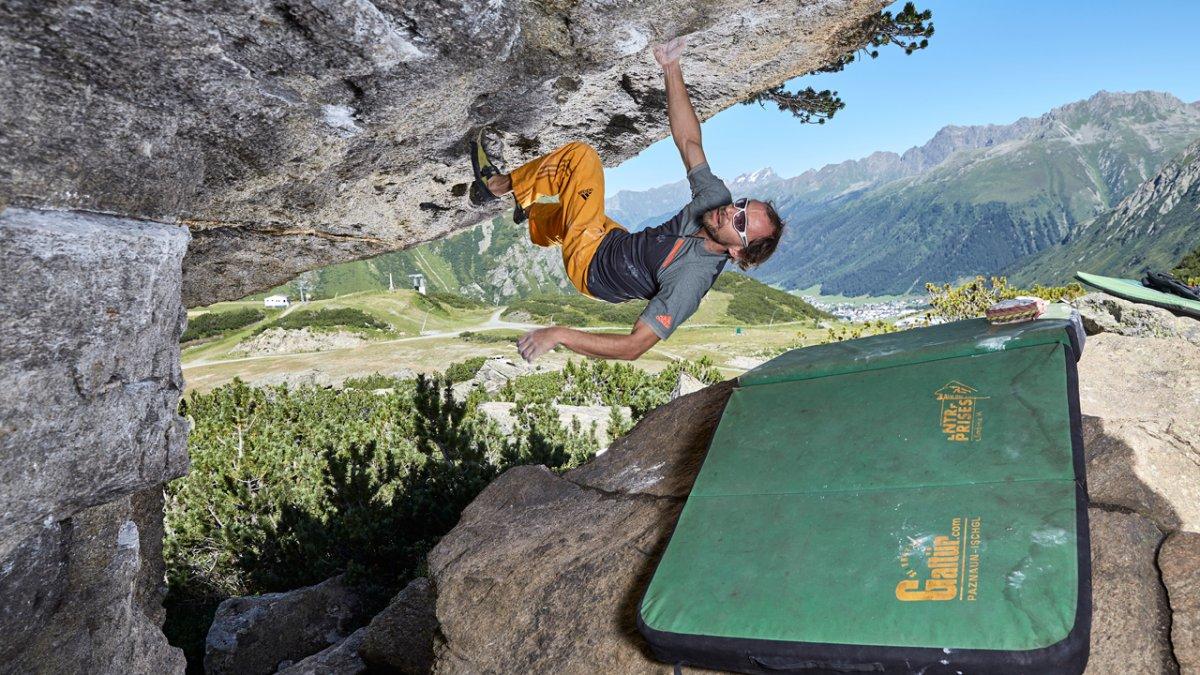 Bouldern in Galtür, © TVB Paznaun-Ischgl