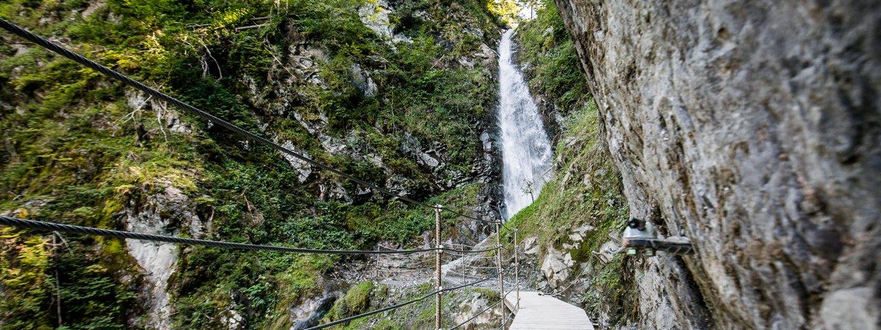Wandertour: Eifersbacher Wasserfall, © TVB Kitzbüheler Alpen - St. Johann
