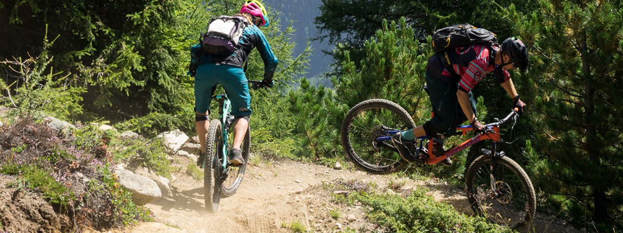 Leiterberg Trail in Sölden, © Tirol Werbung/Peter Neusser