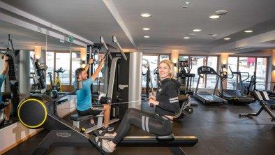Fitnessarea im Adler Inn Tyrol Mountain Resort, © Lorenz Masser
