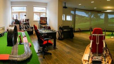 Männerspielzimmer mit IndoorGolf