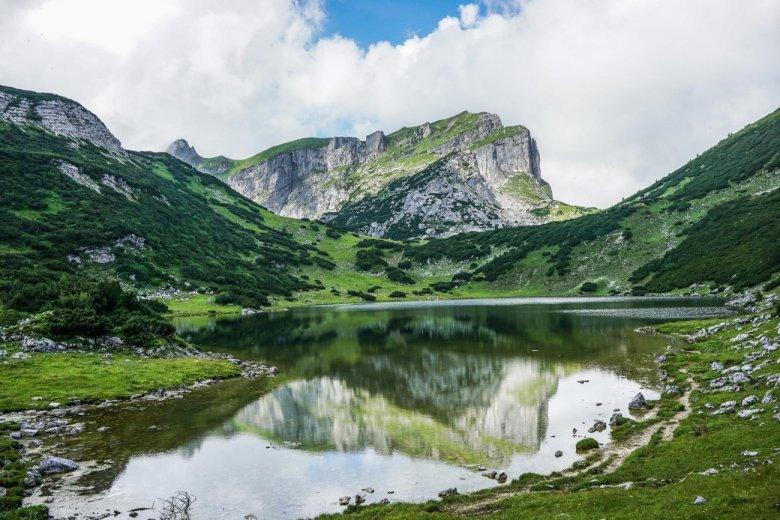 Fabians Blick über den Zireiner See.