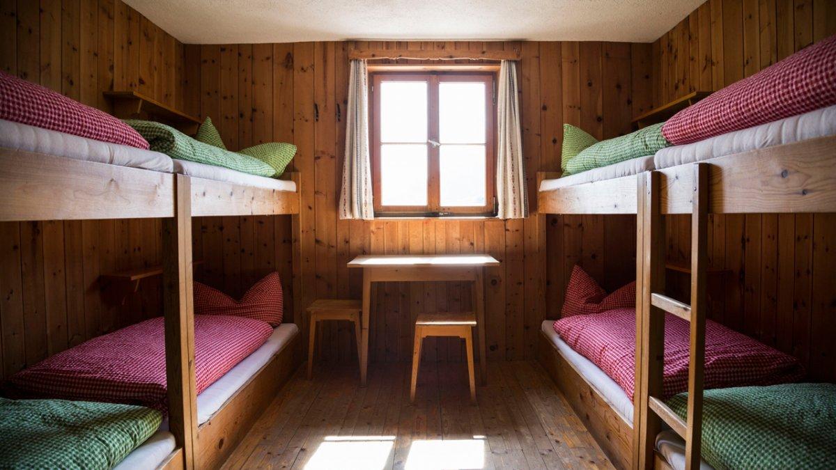 Adlerweg: Übernachtung im Württemberger Haus, © Tirol Werbung