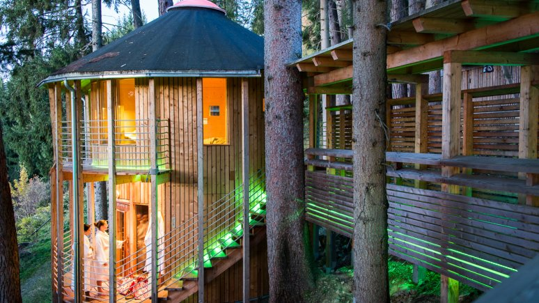 Waldsauna im Bio-Hotel Grafenast, © Bio-Hotel Grafenast