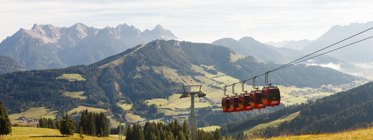 Gondelbahn Streuböden, © Tirol Werbung/Robert Pupeter