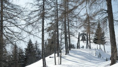Friedensglocke Mösern im Winter, © Olympiaregion Seefeld