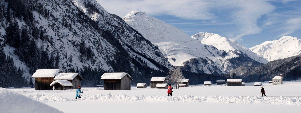 Langlaufen im Lechtal, © Irene Ascher