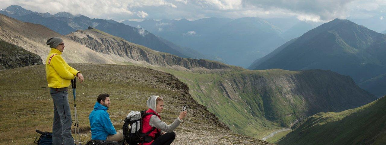 Bergtour vom Kalser Tauernhaus zur Stüdlhütte am Fuße des Großglockners, © Tirol Werbung/Frank Bauer
