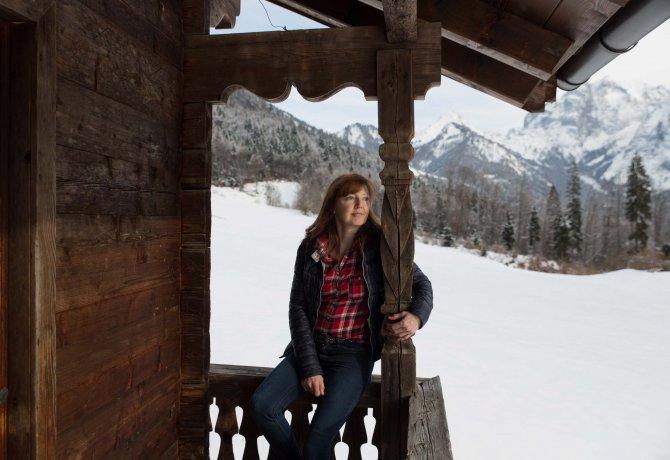 Barbara Schaffer vom Hinterkaiserhof, © Tirol Werbung/Bert Heinzlmeier