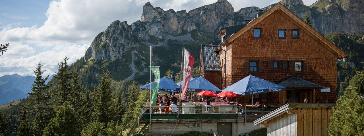 Erfurter Hütte, © Tirol Werbung/Jens Schwarz