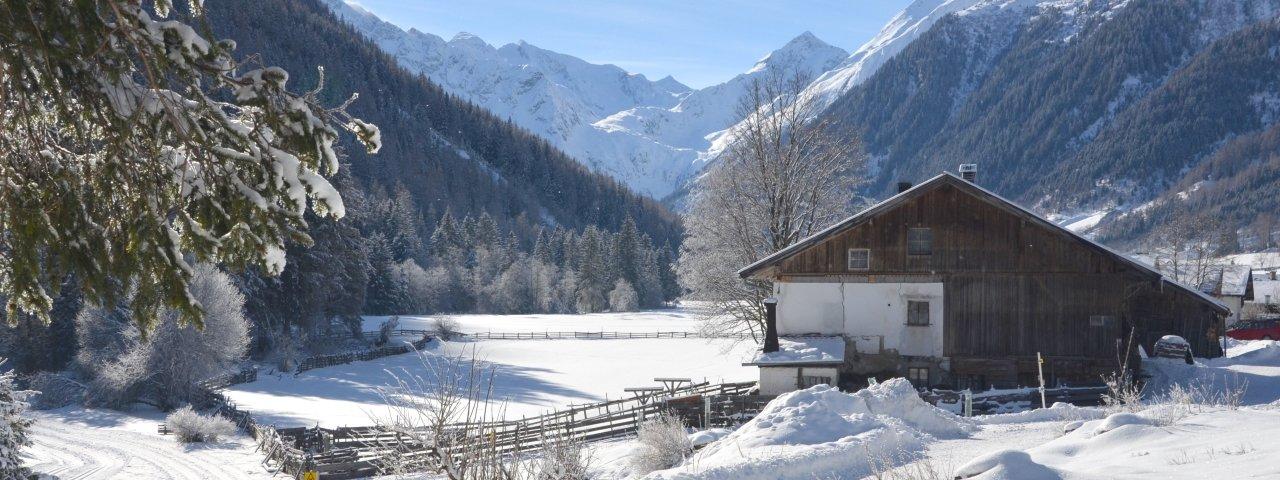 Gschnitz im Winter, © Wipptal