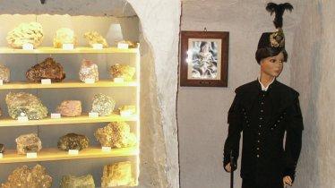 Mineralienraum im Bergbaumuseum Hall, © Region Hall-Wattens