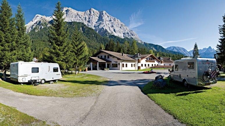 , © Comfort Camping Tiroler Zugspitze