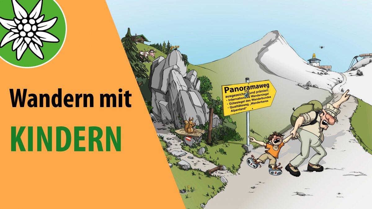 Wandern mit Kindern, © Alpenverein Österreich