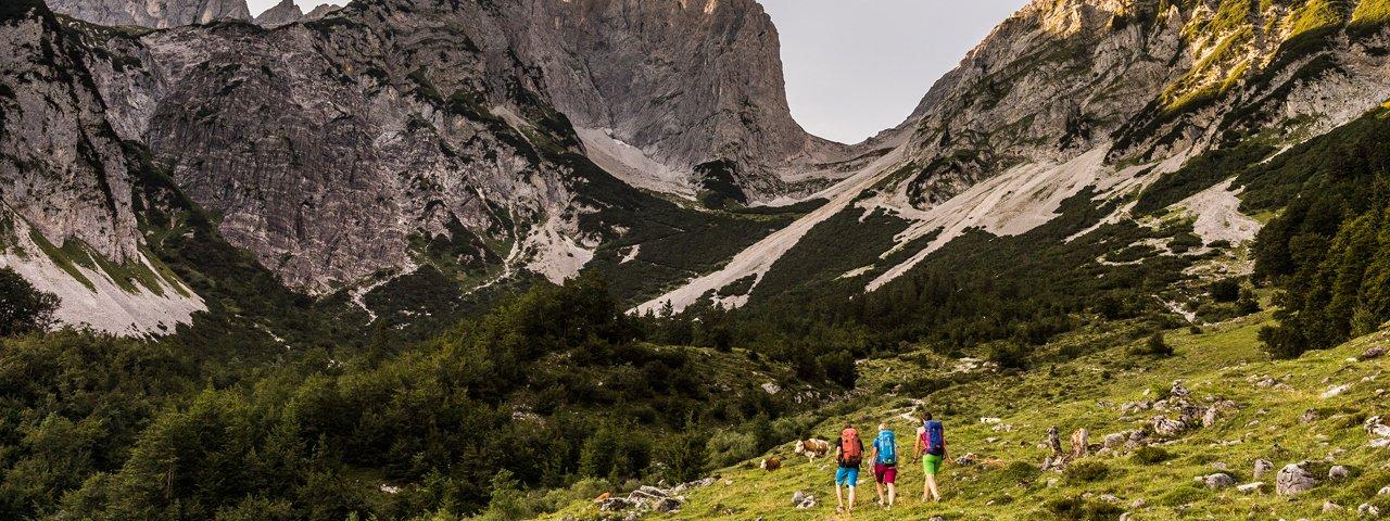 Wandern am Wilden Kaiser, © Felbert Reiter