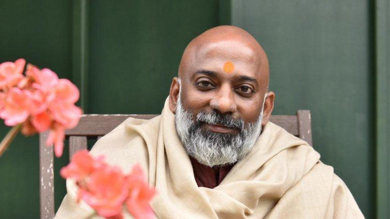 Shri Pankaj Kumar Divedi im Gartenhotel Crystal, © Gartenhotel Crystal