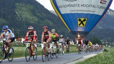 Beim Rad-Marathon Tannheimer Tal stehen seit 2018 vier Strecken zur Auswahl, © Marco Felgenhauer