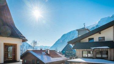 weitere Ausblick Ansicht Appartementhaus Alpenrose
