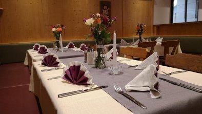 gedeckter Tisch im Aschauer Hof, © AschauerHof
