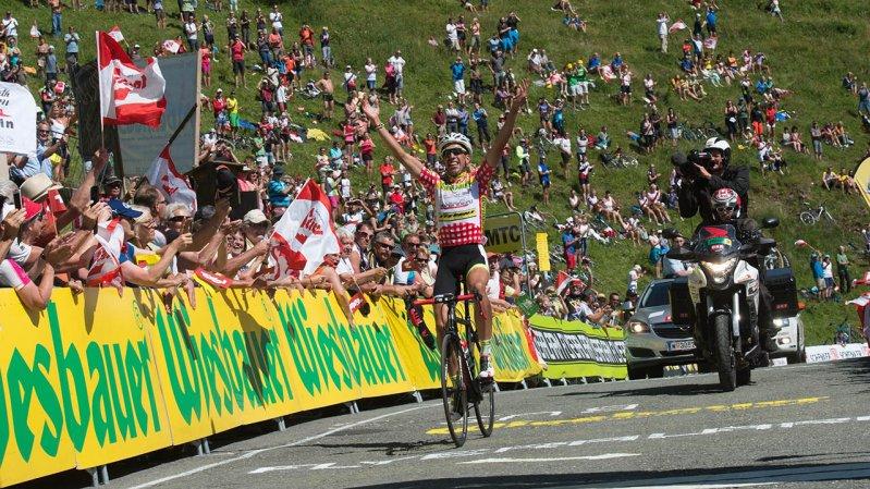 So wie die Österreich-Rundfahrt endet auch der Kitzbüheler Radmarathon am Kitzbüheler Horn, © Expa Pictures