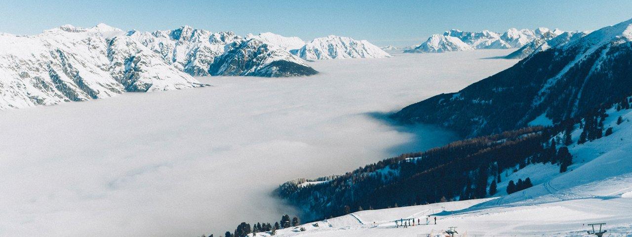 Skifahren in der Ferienregion Tirol West - Skigebiet Venet, © TVB TirolWest/Daniel Zangerl