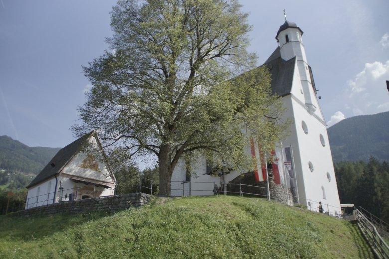 Kapelle bei Burg in Schwaz