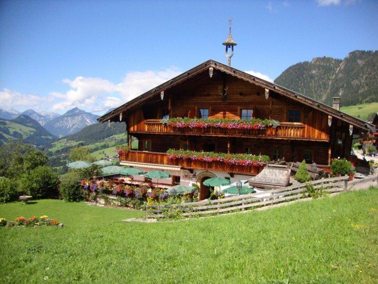 Ein typisches Haus in Alpbach – einfach nur ein Traum.