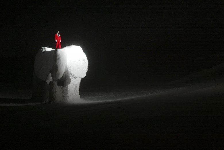 Hannibal und derSchnee-Elefant, Foto: Spöttel