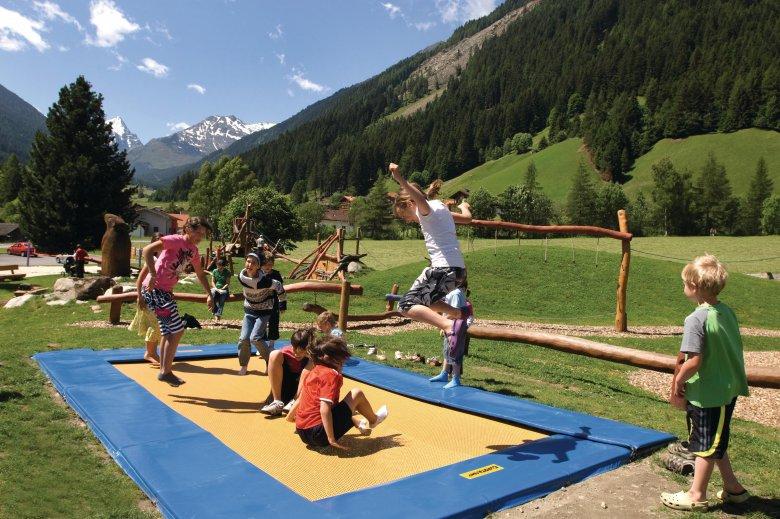 Murmel-Spielplatz Gries © Innsbruck Tourismus, Irene Ascher