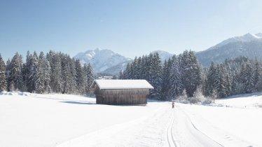 Weißach-Loipe in Fieberbrunn, © Defrancesco Photography