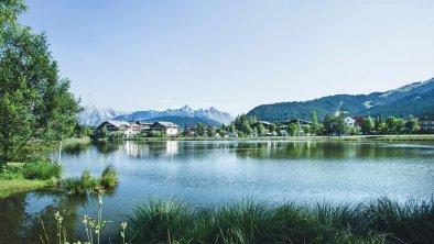 Wildsee mit Blick auf Seefeld, © Olympiaregion Seefeld, Stephan Elsler