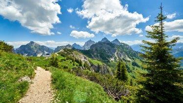 Walking trail to the Füssener Jöchle, © TVB Tannheimer Tal/Achim Meurer