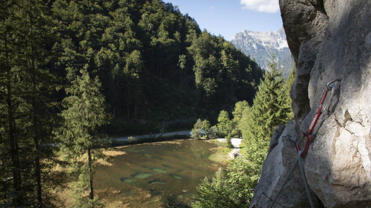 Wiesensee Klettergarten, © Tirol Werbung / Frank Stolle